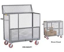 ALL-WELDED MOBILE SECURITY BOX TRUCKS